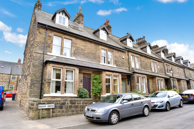Thumbnail End terrace house to rent in Duchy Grove, Harrogate