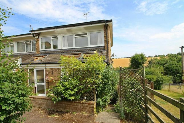 Thumbnail Semi-detached house for sale in The Birches, Codicote, Hitchin, Hertfordshire