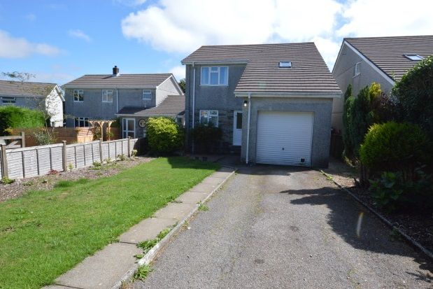 Thumbnail Detached house to rent in Penhale Close, St. Cleer, Liskeard
