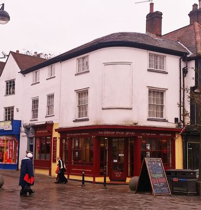 Thumbnail Retail premises for sale in High Street, High Wycombe