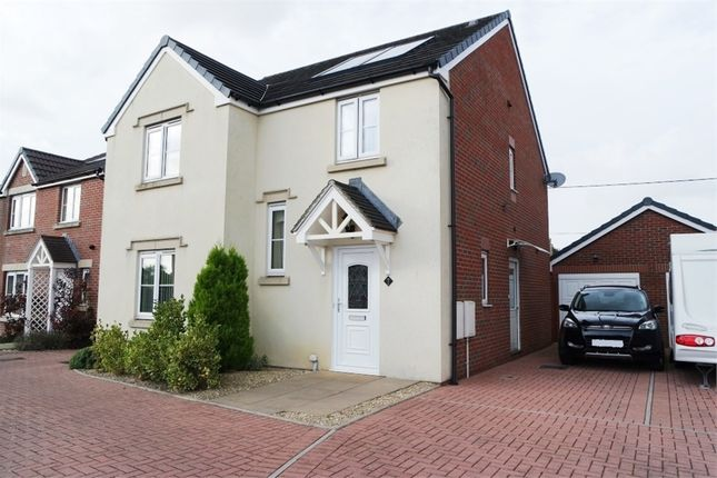 Thumbnail Detached house for sale in Clos Cae Ffynnon, North Cornelly, Bridgend, Mid Glamorgan
