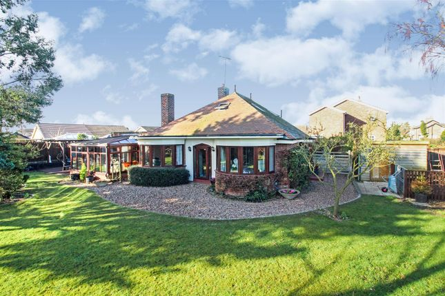 Thumbnail Detached bungalow for sale in Old Road, Leconfield, Beverley