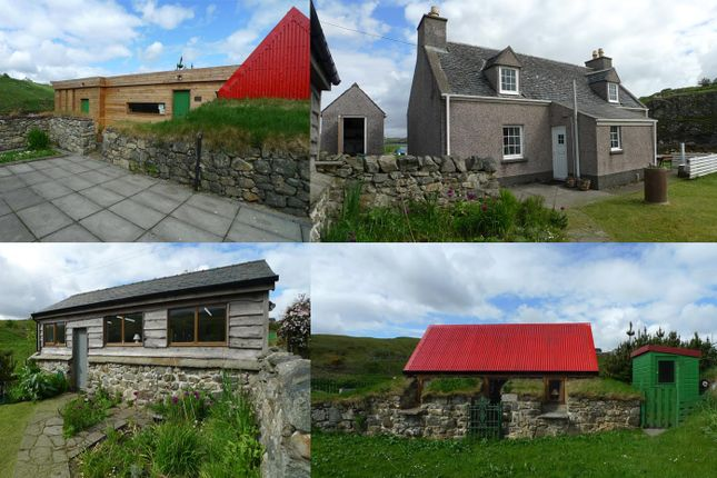 Thumbnail Detached house for sale in 1 Garyvard, Lochs House, Gallery And Studio, Isle Of Lewis