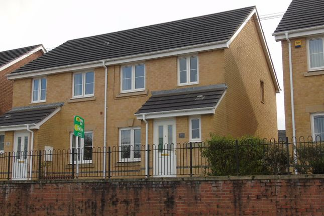 Thumbnail Semi-detached house for sale in Heritage Way, Llanharan, Pontyclun