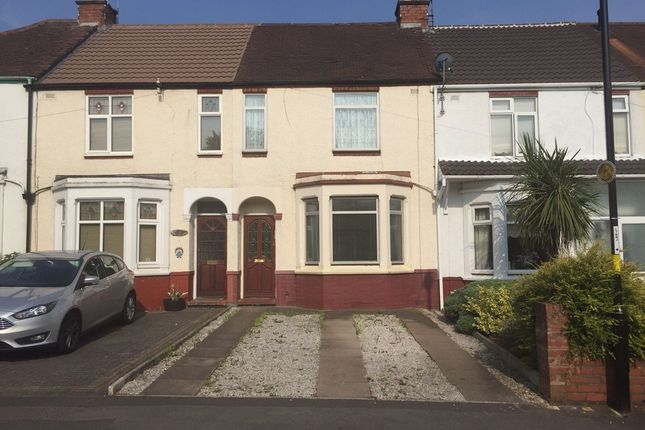 Thumbnail Terraced house to rent in Telfer Road, Coventry