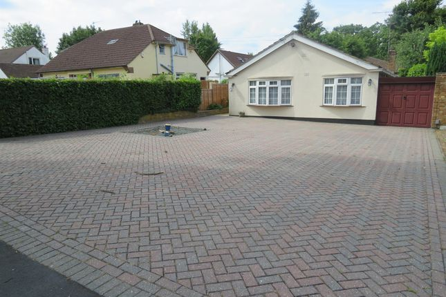 Thumbnail Detached bungalow for sale in The Meads, Bricket Wood, St. Albans