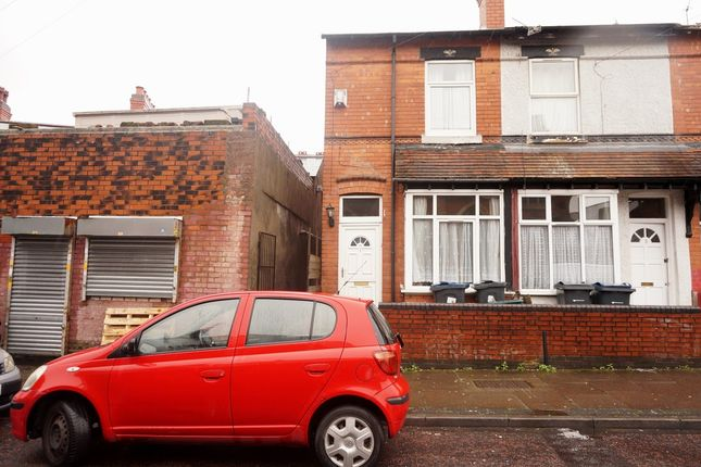Thumbnail End terrace house to rent in Farnham Road, Handsworth, Birmingham