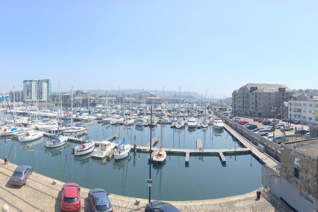 Thumbnail Flat for sale in Discovery Wharf, North Quay, Sutton Harbour, Plymouth, Devon