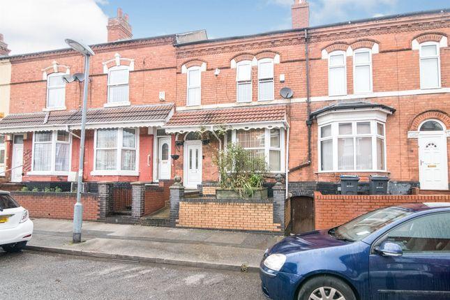 Thumbnail Terraced house for sale in Avondale Road, Sparkhill, Birmingham