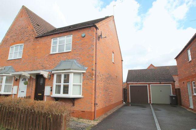 Thumbnail Semi-detached house for sale in Sandown Close, Stratford-Upon-Avon