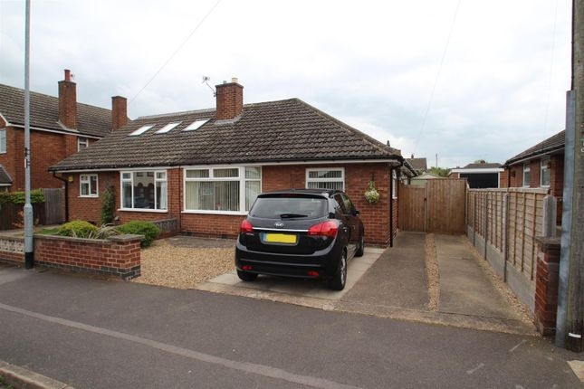 Thumbnail 2 bed semi-detached bungalow for sale in St. Pauls Drive, Syston, Leicester