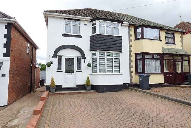 Thumbnail Semi-detached house to rent in Cliff Rock Road, Rednal