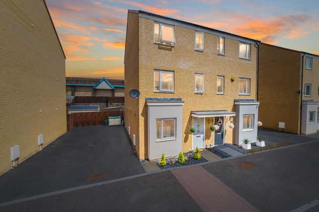 Thumbnail Semi-detached house for sale in Christopher Garnett Chase, Stanway, Colchester