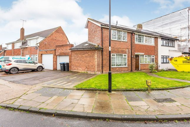 Thumbnail Semi-detached house for sale in Woodpecker Close, London