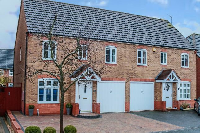 3 bed semi-detached house for sale in Rosedale Close, Brockhill, Redditch