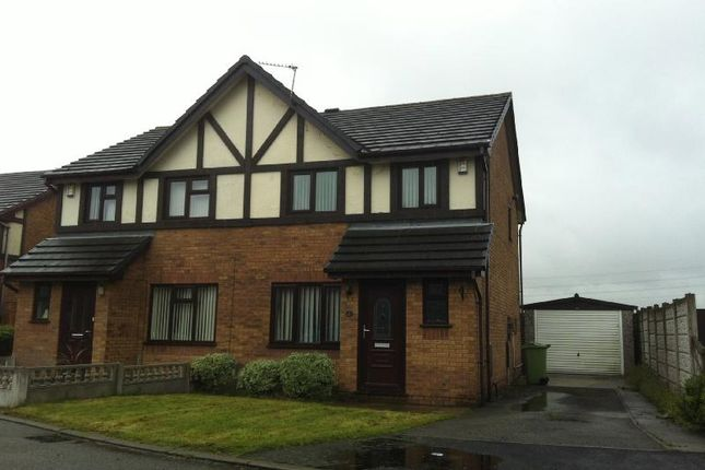 Thumbnail Semi-detached house to rent in Henllan Gardens, Sutton, St Helens