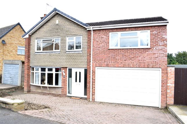 Thumbnail Detached house for sale in Sunningdale Drive, Kirk Hallam, Ilkeston, Derbyshire