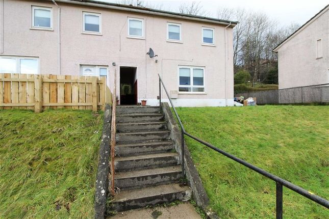 Thumbnail End terrace house for sale in Montrose Street, Clydebank, West Dunbartonshire