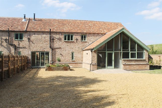 Thumbnail Barn conversion for sale in Stow Road, Wiggenhall St. Mary Magdalen, King's Lynn