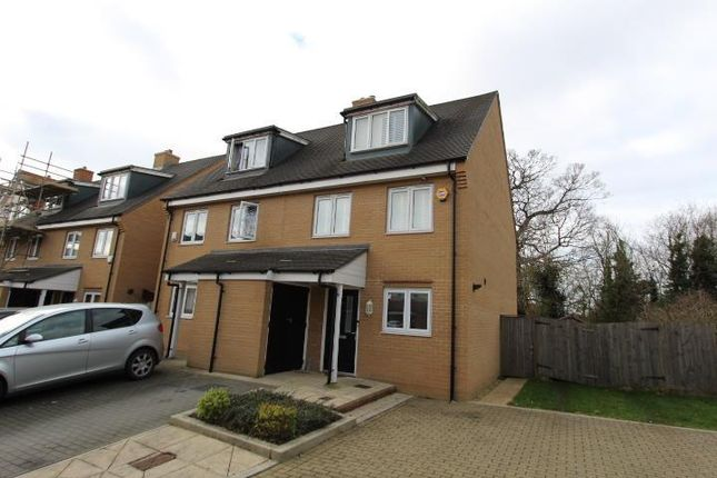 4 bed terraced house for sale in Albacore Way, Hayes, Middlesex UB3