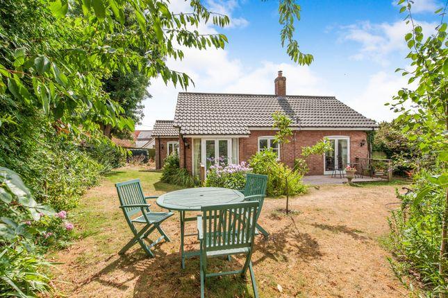 Thumbnail Detached bungalow for sale in Dudleys Close, Redgrave, Diss