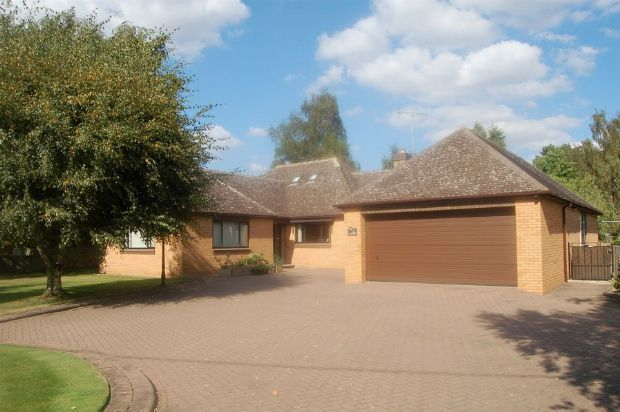 Thumbnail Detached bungalow for sale in Hartwell Road, Roade, Northampton