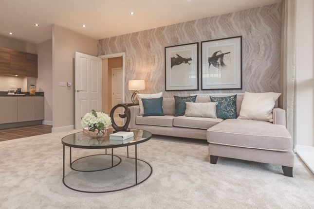 Thumbnail 2 bed flat for sale in Tolworth Square, Tala Close, Surbiton