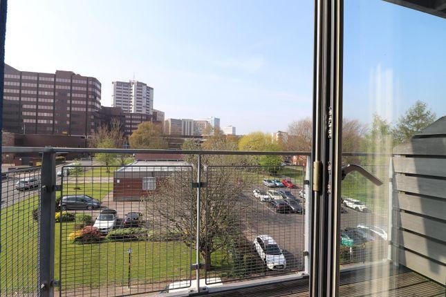 Balcony of Sinope, 26 Ryland Street, Birmingham B16