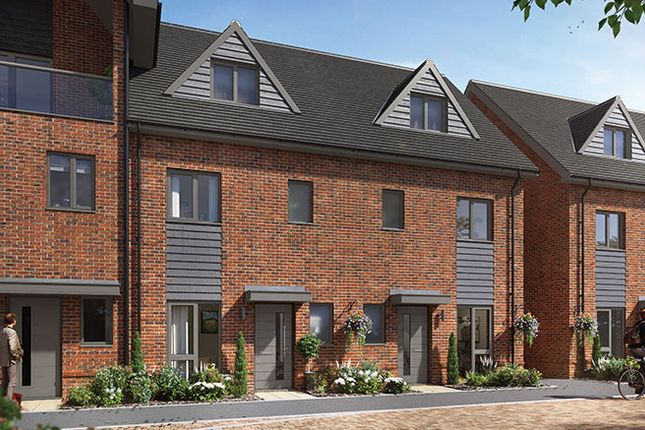Thumbnail Terraced house for sale in Plot 286 - The Ashford, Crowthorne