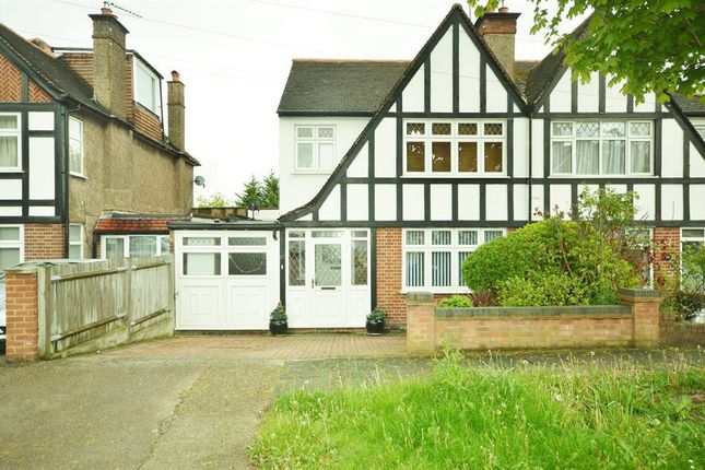 Thumbnail Semi-detached house for sale in Ambleside Gardens, Wembley, Middlesex