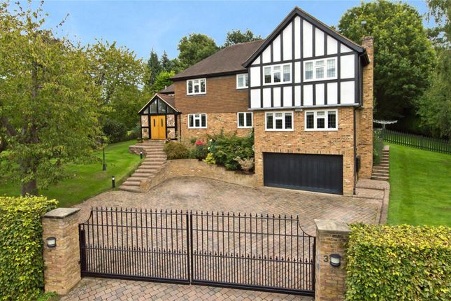 Thumbnail Detached house for sale in Parkfields, Oxshott, Leatherhead, Surrey