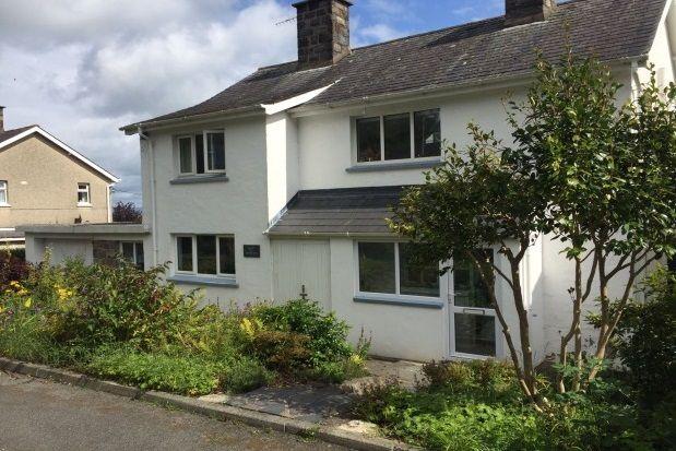 Thumbnail Detached house to rent in Beach Road, Llanbedrog, Pwllheli