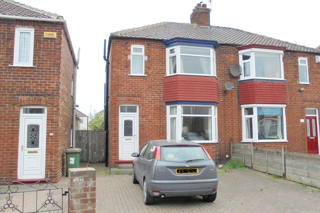 Thumbnail Semi-detached house to rent in Grinkle Road, Redcar