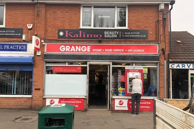 Thumbnail Retail premises for sale in 8 Carvers Corner, Grange Drive, Leicester