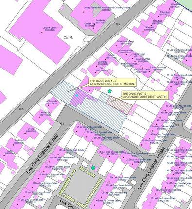 Thumbnail Land for sale in La Cloture, La Grande Route De St. Martin, St. Saviour, Jersey