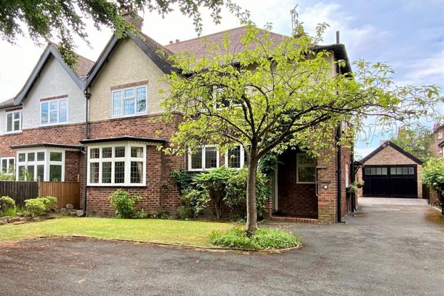 Thumbnail Semi-detached house for sale in Hawthorn Lane, Wilmslow