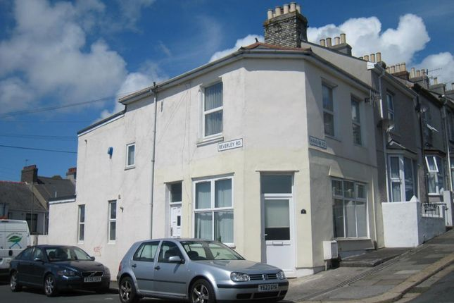 Thumbnail Flat to rent in Hanover Road, Plymouth, Devon