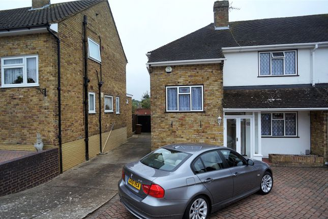 Thumbnail Semi-detached house to rent in Yantlet Drive, Rochester, Kent
