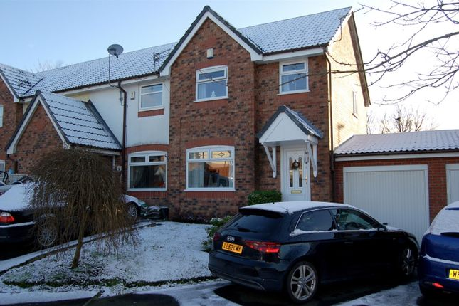 Thumbnail End terrace house to rent in Sefton Close, Oldham
