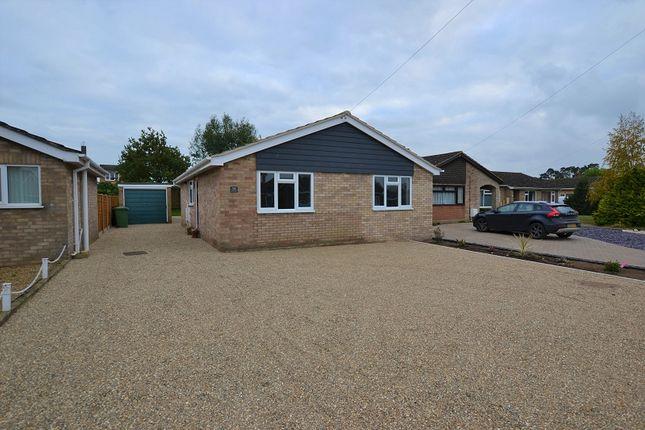 Thumbnail Bungalow for sale in Kerridges, East Harling, Norwich, Norfolk.