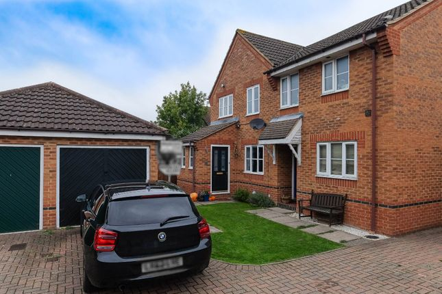 Thumbnail Semi-detached house for sale in Wraysbury Drive, Laindon, Basildon