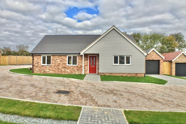Thumbnail Detached bungalow for sale in Andrew Burtts Close, Framlingham