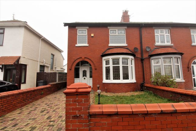 Thumbnail Semi-detached house to rent in Bournemouth Road, Blackpool