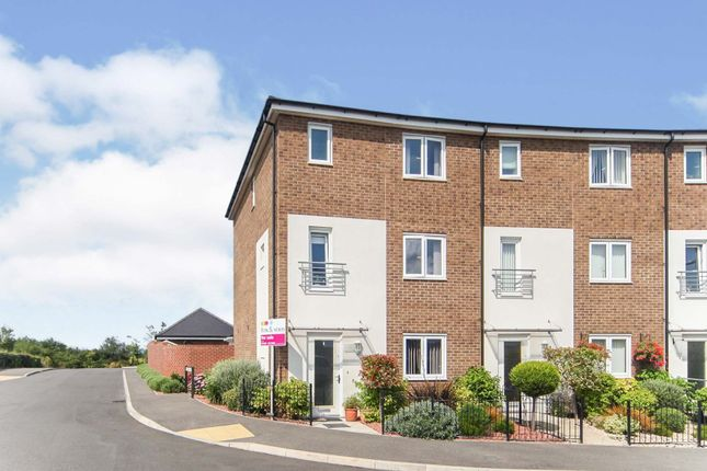 Thumbnail End terrace house for sale in Drake Road, Yeovil