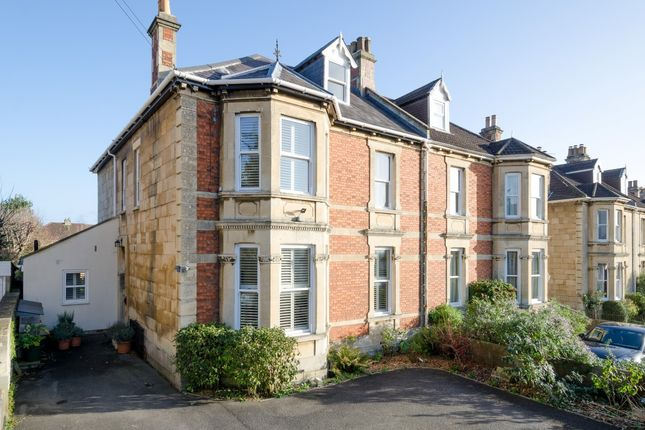 Thumbnail Semi-detached house for sale in Combe Park, Weston, Bath