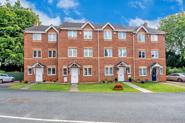 Thumbnail Town house to rent in Hollyoak Way, Cannock