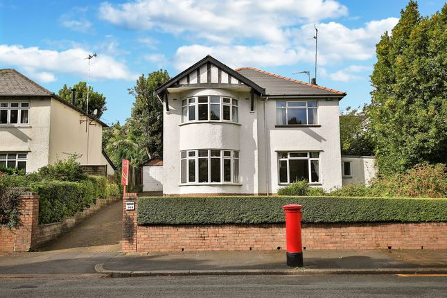 Thumbnail Detached house for sale in Lake Road West, Roath Park, Cardiff
