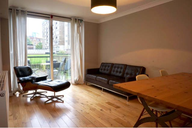 Thumbnail Flat to rent in Paterson Court, London