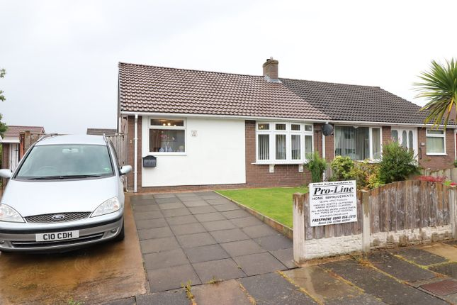 Thumbnail Semi-detached bungalow for sale in Holmrook Road, Carlisle