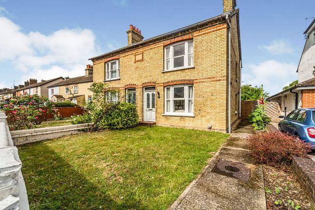Semi-detached house for sale in Hitchin Road, Stotfold